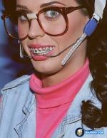 80s braces on katy perry